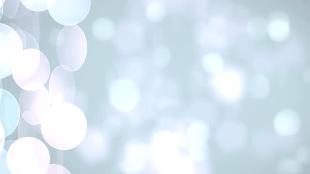 ソフト粒子(ループ) - キラキラ 白背景点の映像素材/bロール