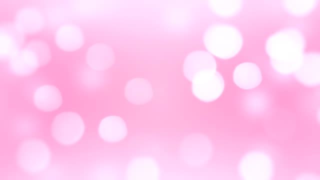 柔らかいピンクの背景 (単発) - ピンク色点の映像素材/bロール