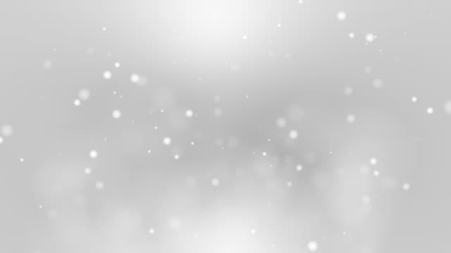 Soft Silver Light Abstract Motion Background video
