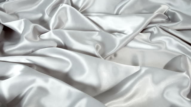 Soft smooth grey fabric textile video