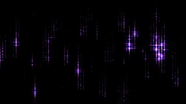 Soft star Particles (Loopable) video
