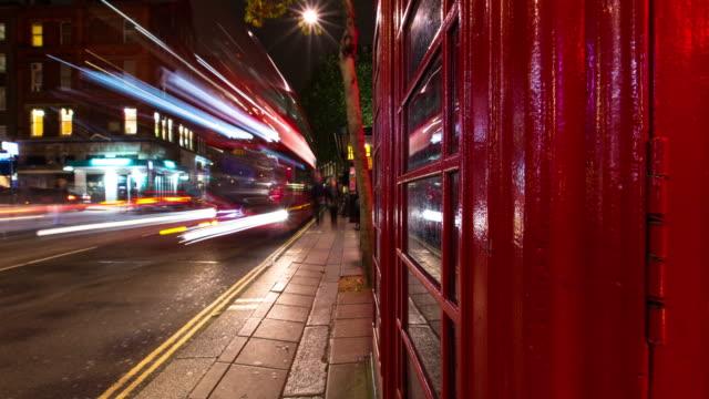 Soho Nighttime Traffic - Time Lapse video