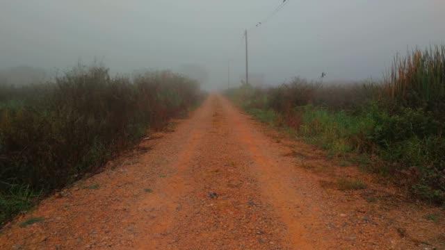 Soil Road At Rural Shot By Smart Phone
