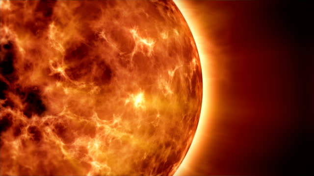 solar atmosphere - flare video stock e b–roll