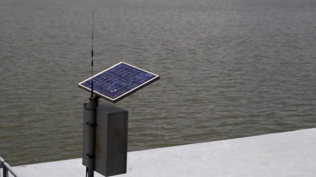 Solar cell river