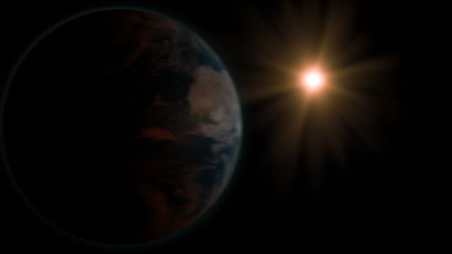 solar eclipse - earth from space bildbanksvideor och videomaterial från bakom kulisserna