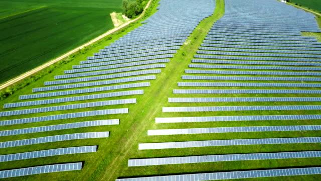 AERIAL: Solar Energy - Solar Power Station video