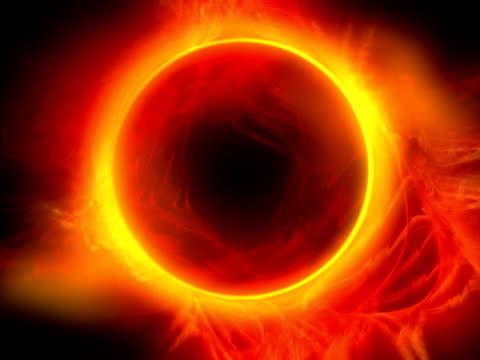 alone solare ntsc - simbolo concettuale video stock e b–roll