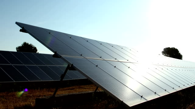 Solar Panels, Alternative Green Energy video