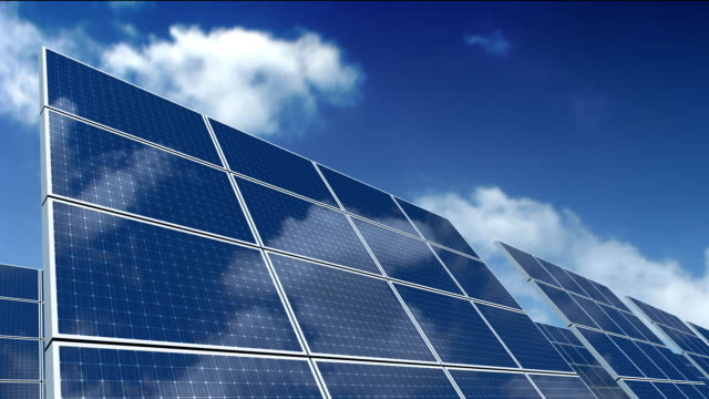Solar Panels - Green Energy video