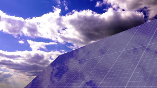 Solar Panels Timelapse video
