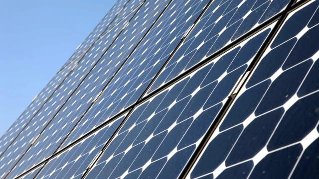 HD CLOSE UP: Solar plates video