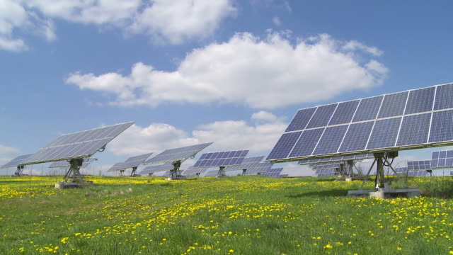 T/L Solar Power Station With Flexible Panels video