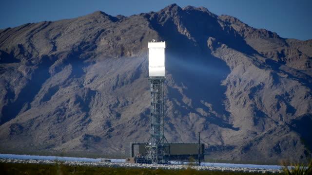 Solar Power Tower Center 4K video