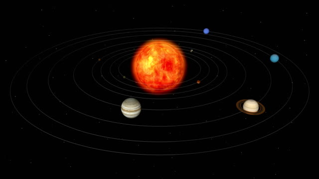układ słoneczny planet - venus filmów i materiałów b-roll