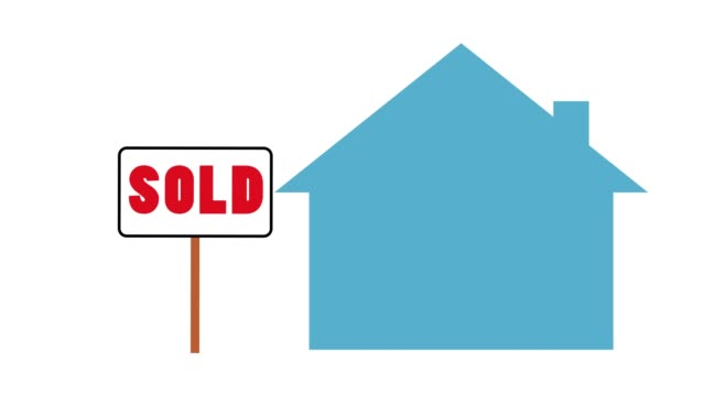 sold house motion graphic concept sold house motion graphic concept house rental stock videos & royalty-free footage