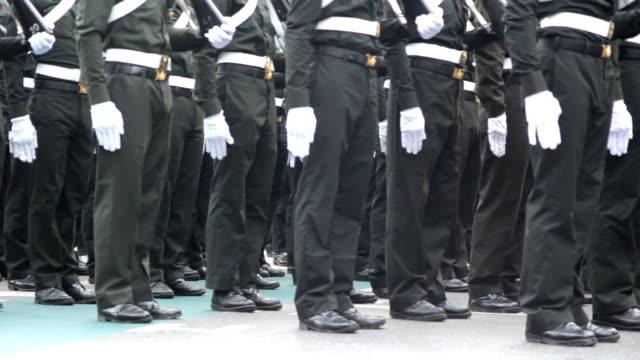 vídeos y material grabado en eventos de stock de soldier preparación - brigada