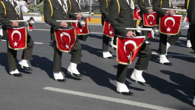 soldato - cultura turca video stock e b–roll