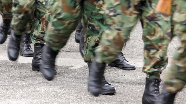 Soldiers Marching video