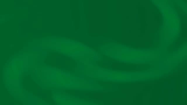 vídeos de stock, filmes e b-roll de sólida animação verde escuro com suave onda suave. fundo profundo real da esmeralda. - esmeralda