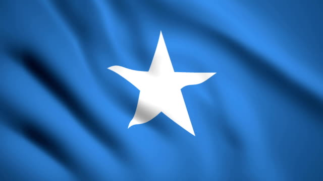 Somalia flag Motion video waving in wind. Flag Closeup 1080p HD  footage Somalia flag Motion video waving in wind. Flag Closeup 1080p HD  footage horn of africa stock videos & royalty-free footage