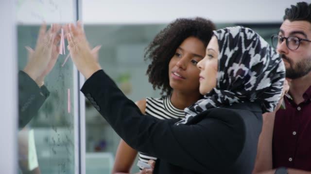vissa idéer lyser ljusare än andra - hijab bildbanksvideor och videomaterial från bakom kulisserna