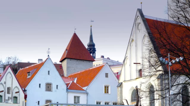 Some of old style houses in Tallin video