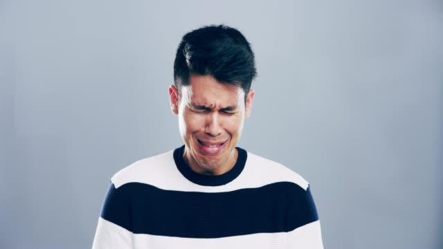 有人感到很憂鬱 - 絕望 個影片檔及 b 捲影像