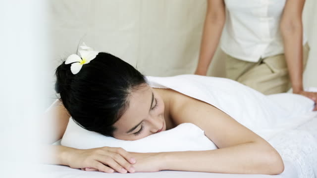 Sophisticated Spa Treatment for relaxation. video