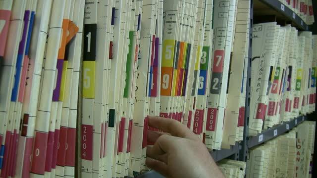 Sorting Medical Files HD video