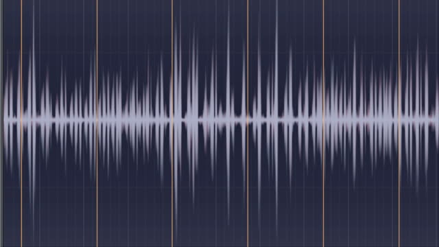 sound - sound wave stock-videos und b-roll-filmmaterial
