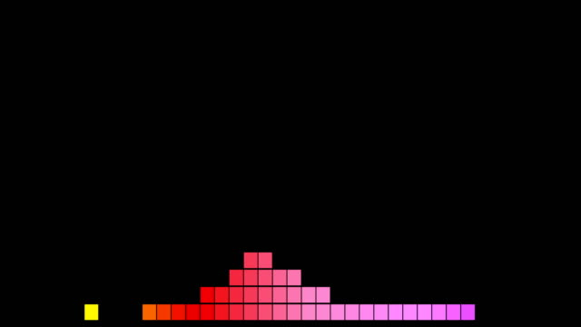 vidéos et rushes de forme d'onde audio sound wave / spectre - hip hop