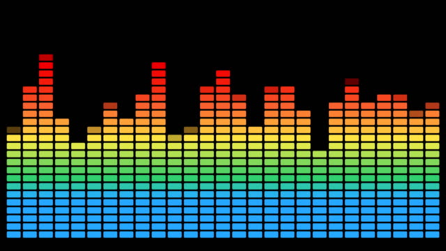 vídeos de stock, filmes e b-roll de música de ruído de som wave - dance music