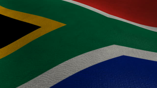 South African Flag Waving video
