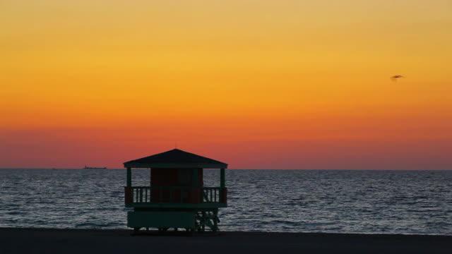 South Beach dawn video