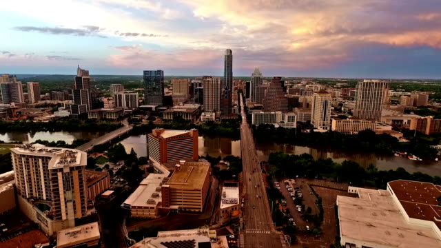 South Congress Austin Texas Sunrise video