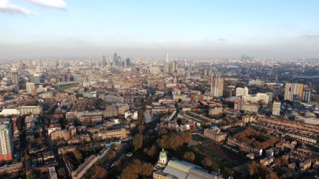 South London Aerial Central City View Skyline South London Aerial City View around Waterloo, Southwark feat. Suburban and Central Neighborhood in Elephant & Castle, Kennington Skyline 4K Ultra HD south stock videos & royalty-free footage