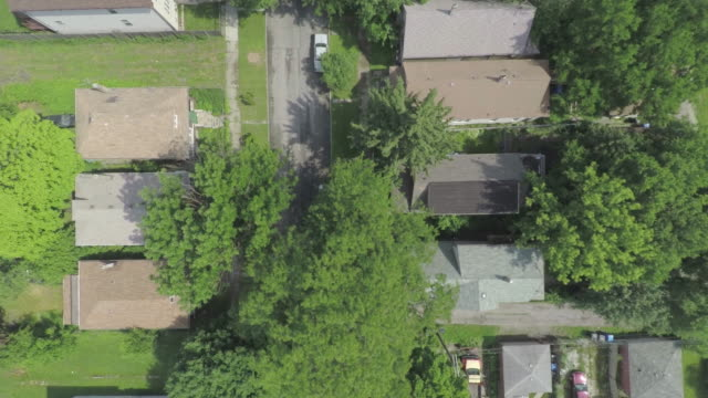 south side chicago aerial - foreclosure stock videos & royalty-free footage