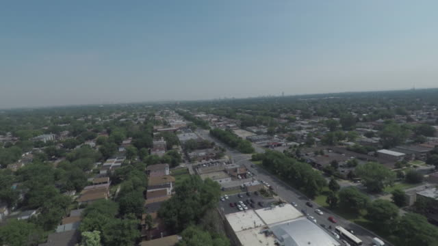 South Side Chicago Aerial South Side Chicago Aerial south stock videos & royalty-free footage