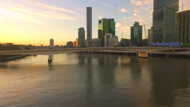 Southbank at sunset video