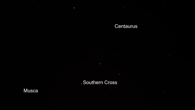 Southern Cross or Crux video