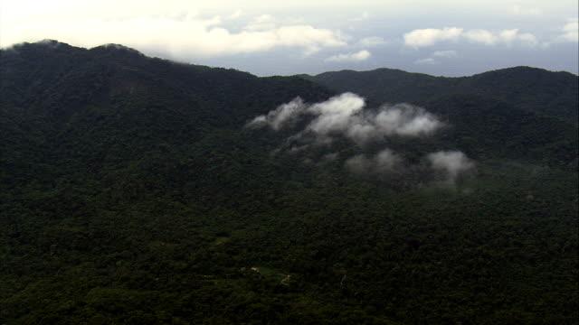 Southern Edge Parque Nacional Da Serra Da Bocaina  - Aerial View - São Paulo,Brazil