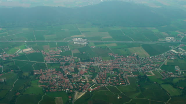 Southern Italy Aerial View, Erbusco Commune, Lombardy video