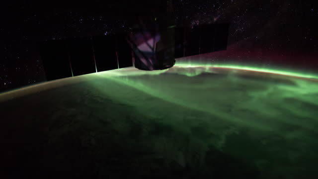 Southern Lights over the Australia video