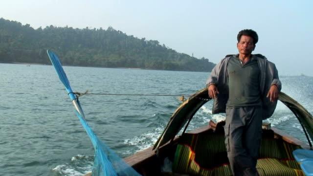 Southern Thai Fisherman HD Video video