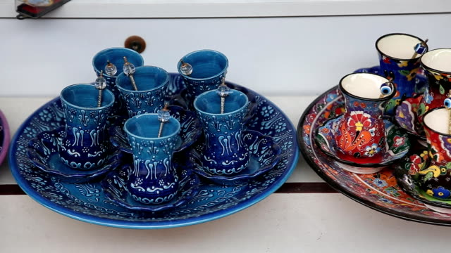 Souvenir homemade wares for tourists in Istanbul
