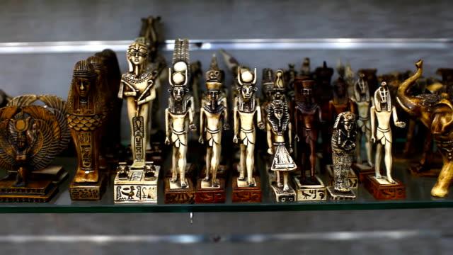 Souvenir shop in Egypt video