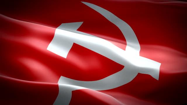 soviet flag - kiss filmów i materiałów b-roll