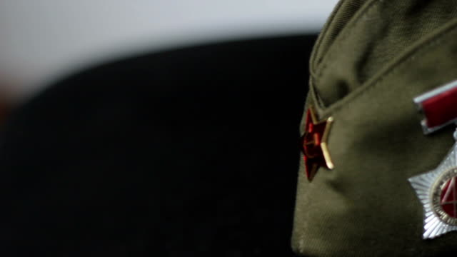 medaglie sovietica - badge video stock e b–roll