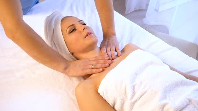Girl Massage Video
